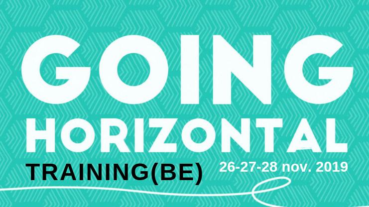 Going Horizontal training – BELGIUM (Dutch)