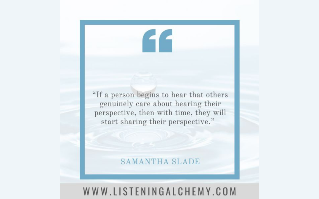#HorizontalLeadership: The Secret Magical Potion of Listening and Time with Samantha Slade