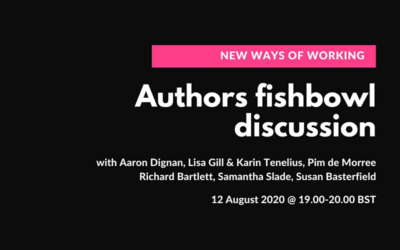 New Ways of Working: Authors Fishbowl Discussion